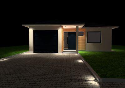 Projekty osvetlenia_RD_Bratislava_01 ext_